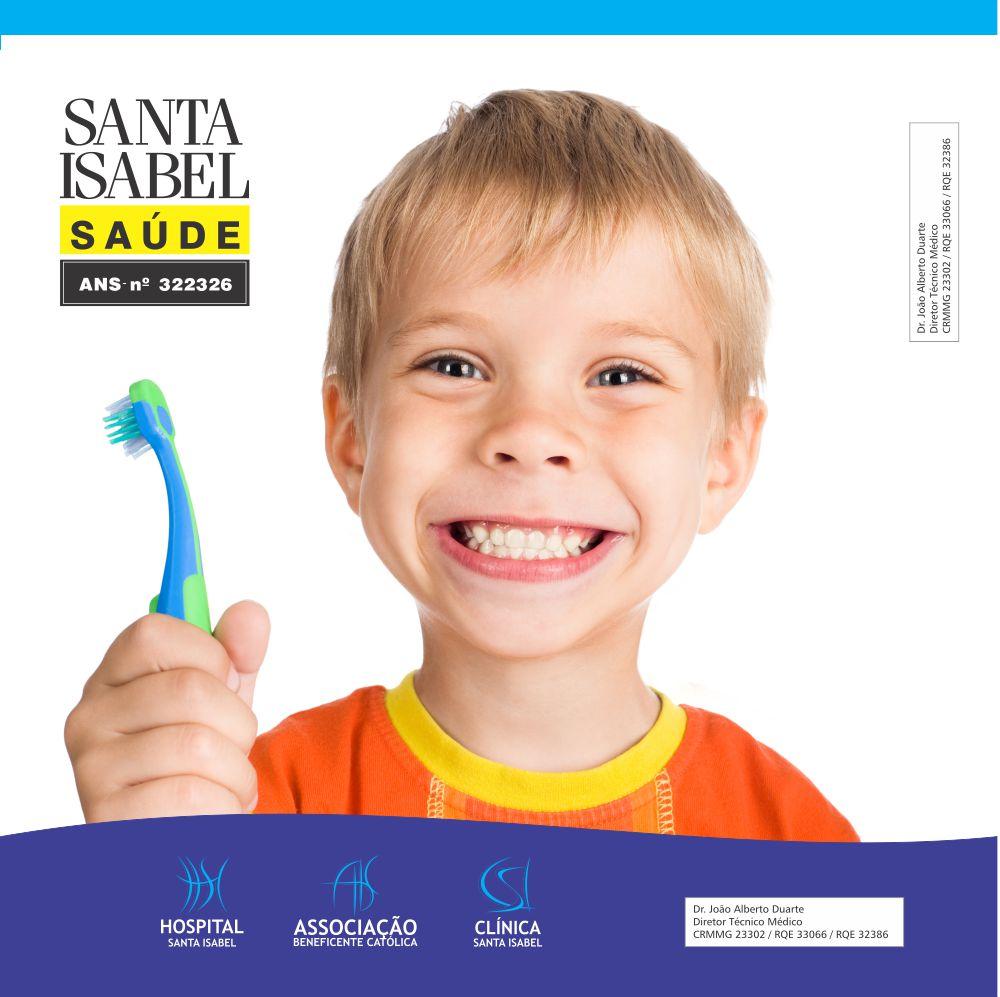 Saiba a importância de cuidar da saúde bucal já nos primeiro