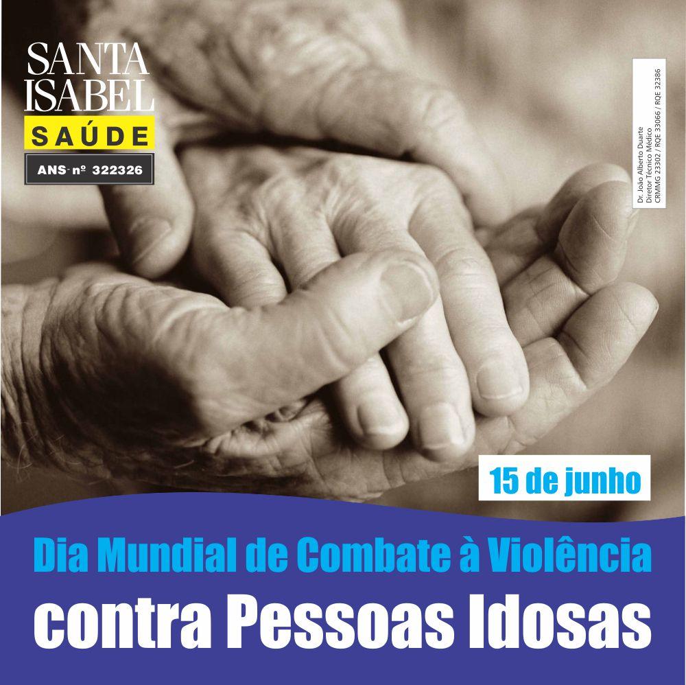 Violência contra a pessoa idosa deve ser denunciada