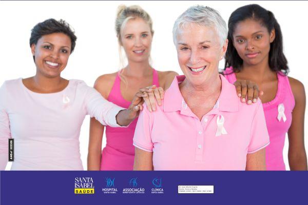 Câncer de mama é a 2ª principal causa de morte entre mulhere