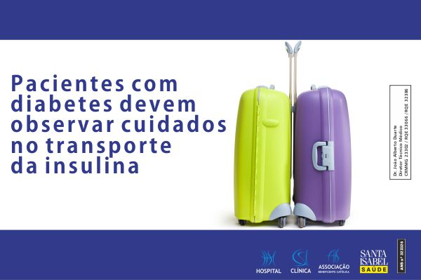 Pacientes com diabetes, cuidado no transporte