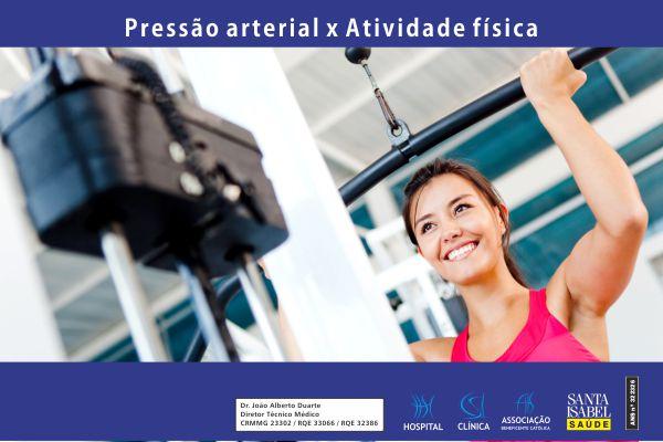Pressão arterial e atividade física