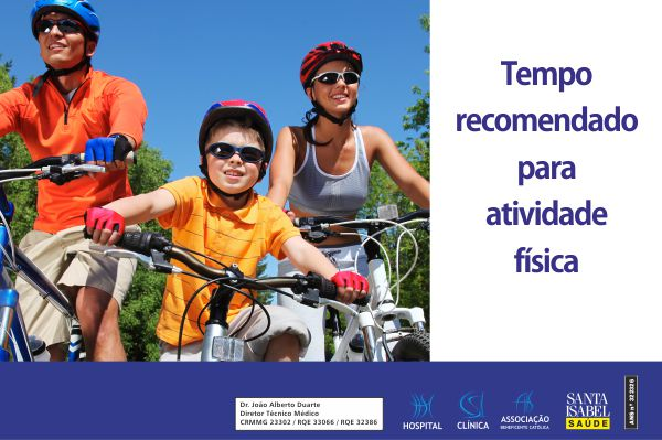 Tempo recomendado para atividade física